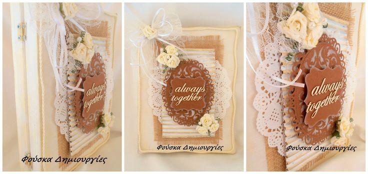 Handmade Wedding Wish Book