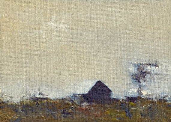 Late Wind - Original Oil Painting and Landscape Painting by Seminary Road Artists