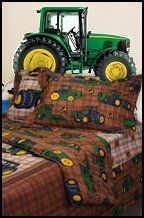 John Deere Farm Theme Bedrooms   Tractor Theme Beds John Deere Bedding    Farm Murals   Country Farm Animal Stick Ups   Baby Barnyard Nursery   John  Deere ...