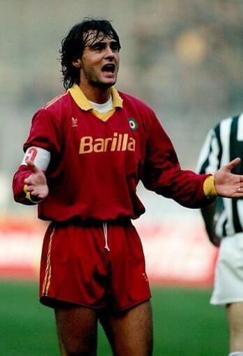 Giuseppe Giannini. Roma Captain pre Francesco Totti
