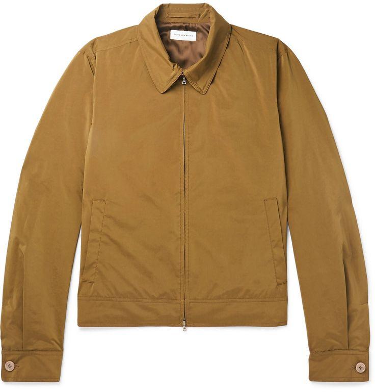 Dries Van Noten - Valerian Shell Harrington Jacket