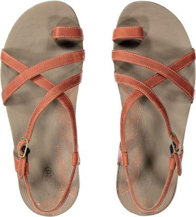 e73749f53259 Thumbnail of Chaco Dorra Sandals - Women s Top view (Flamingo ...