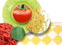 Couscous met tomaat, courgette en gehakt | Groentehap | Smikkels.nl