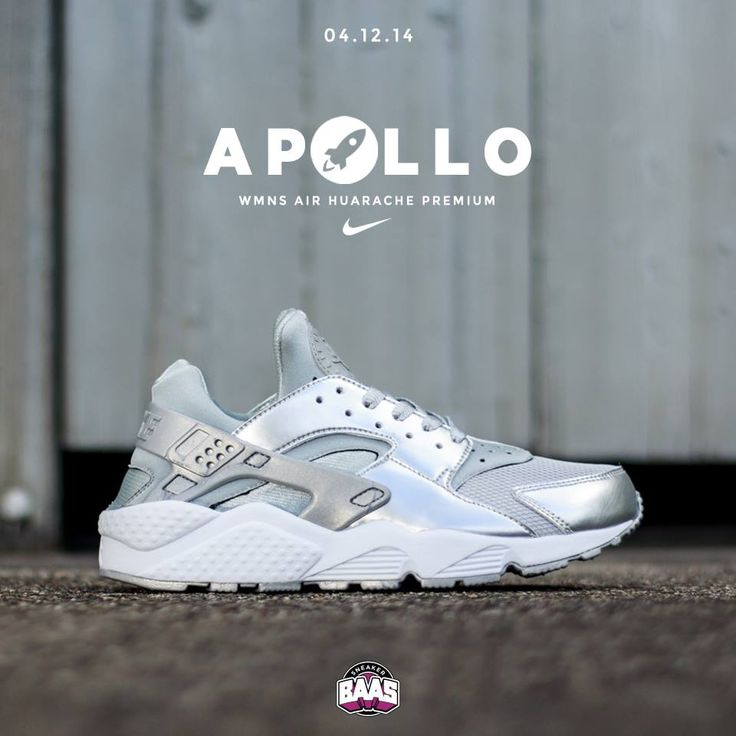 "Yesterday the release of the Nike Wmns Air Huarache Premium ""Apollo"", Last sizes still available! Check out this huarache: http://bit.ly/huarachesilver  #Sneakerbaas #Baasbovenbaas #nike #huarache #apollo"