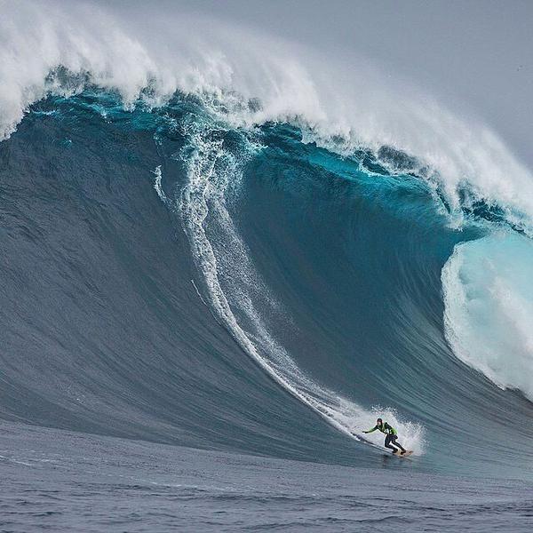 Best Big Wave Surfing Images On Pinterest Beach Landscapes - Surfing inside 27 second long barrel wave