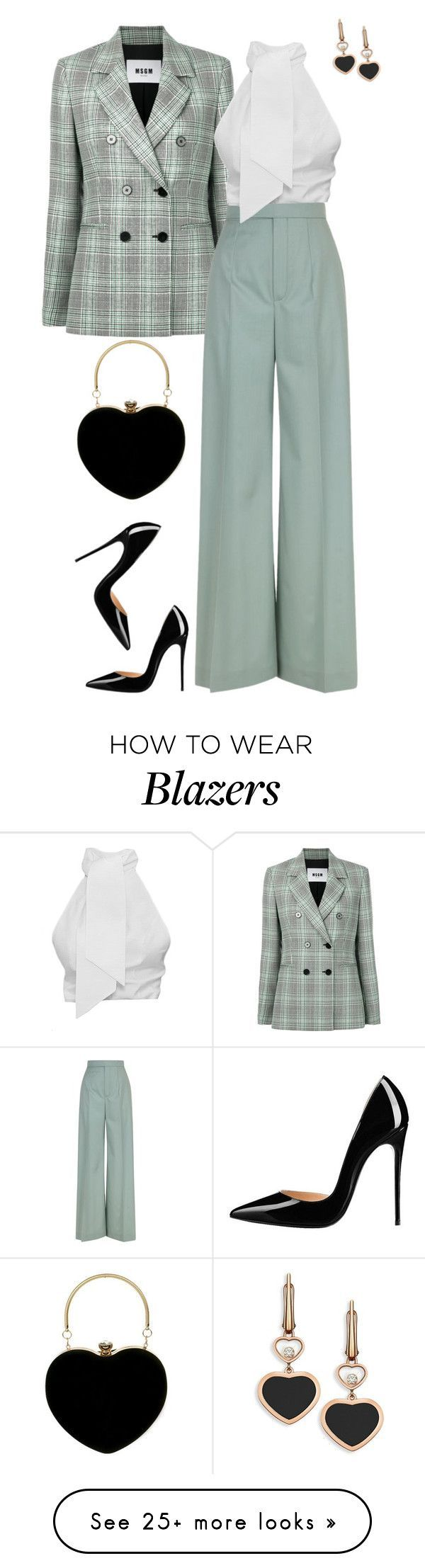 """""""Untitled #574"""" by orrinn on Polyvore featuring MSGM, Chloé and Chopard #womenworkoutfits"""
