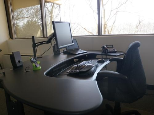 Multi Desk, Charcoal