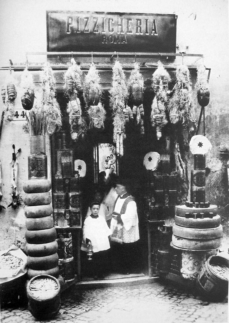 Pizzicarolo anno 1914