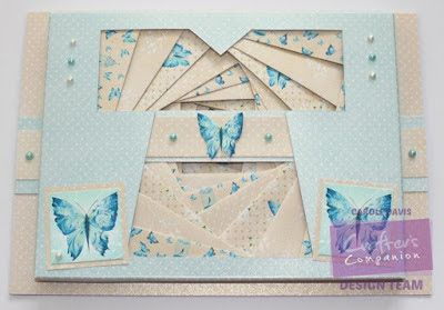 Day 56 - and third day of 7 - A favourite make from last year - this one was for Crafter's Inspiration 7 using the Kimon papers - #photoaday #crafterscompanion #kimono