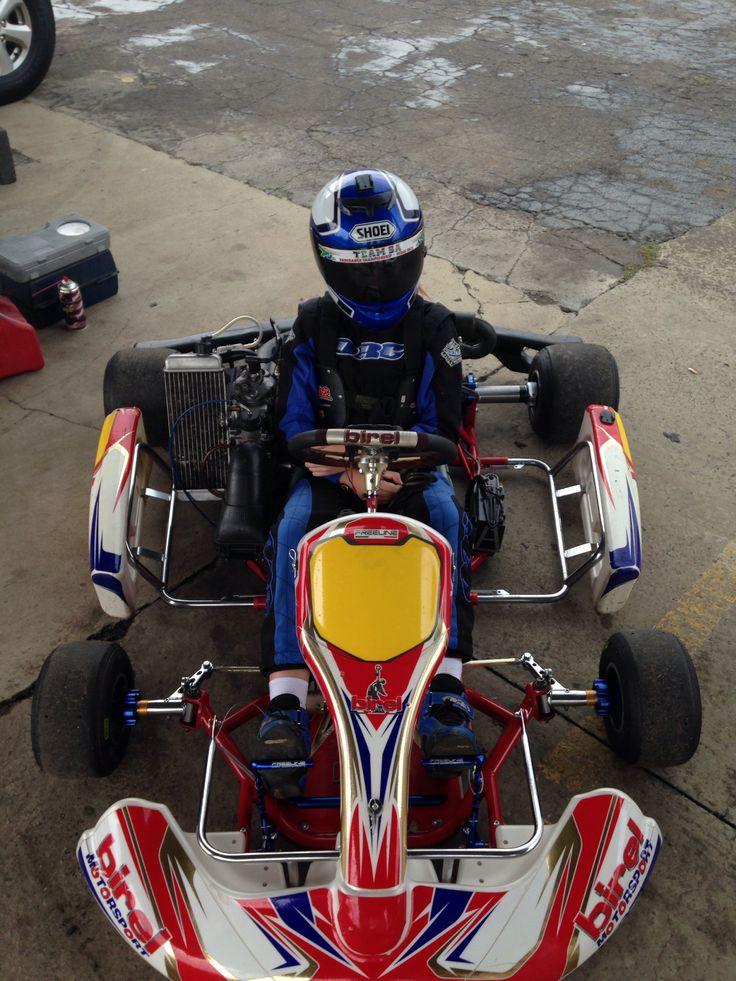 Birel Rotax Junior Max best kart chassis ever  :)