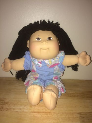 1982-1987-Vintage-Asian-Cabbage-Patch-Kid-Coleco-Head-Hasbro-Body-12-034