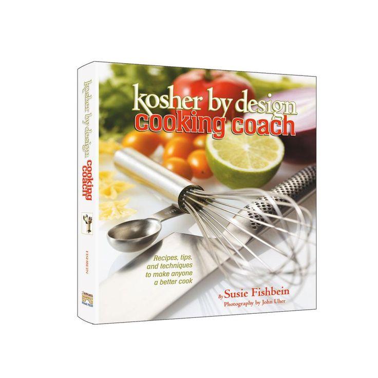 COOKBOOK, KOSHER BY DESIGN, COOKING COACH, SUSIE FISHBEIN