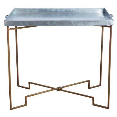 Brickbord från House Doctor. Ett annorlunda sidobord eller soffbord tillverkat i järn. Bo...