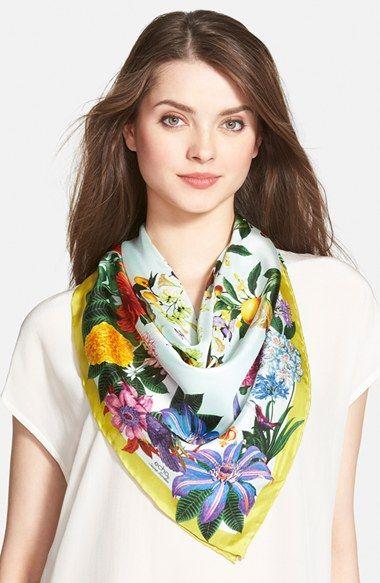 Silk Square Scarf - Silk Badge of Beauty by VIDA VIDA fWEw1AKICk