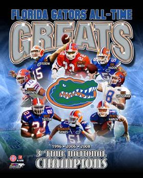 Florida Gators Football ALL-TIME GREATS Poster Print~available at www.sportsposterwarehouse.com