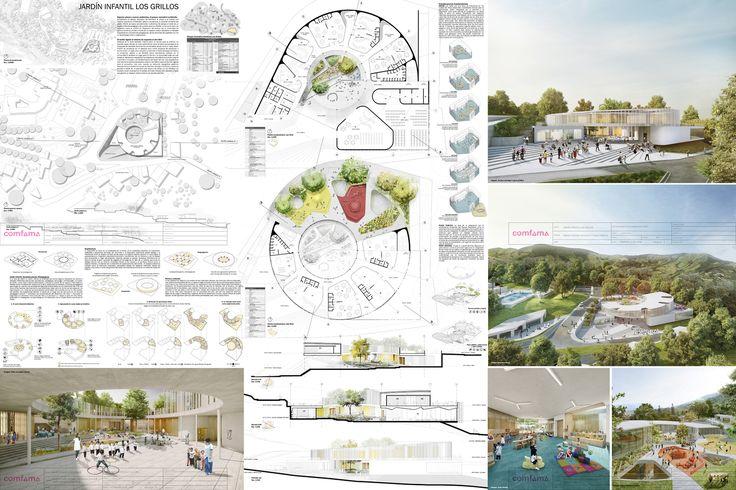 Galería de Arquitectura y Espacio Urbano, primer lugar en diseño del Jardín Infantil Los Grillos en Colombia - 6