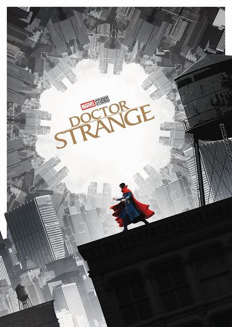 The Geeky Nerfherder: #CoolArt: 'Doctor Strange' by Matt Ferguson
