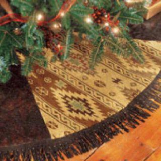 Western Christmas Tree Skirt!!!