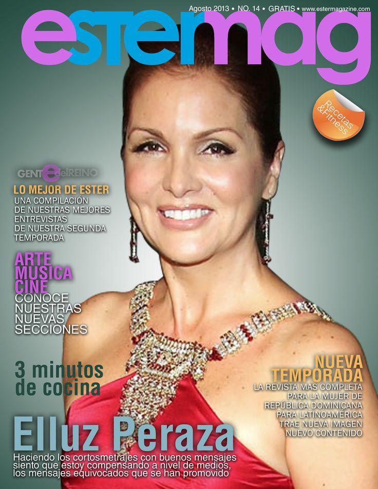 Actriz Elluz Peraza, nos concedió una interesante entrevista... mírala en www.estermagazine.com