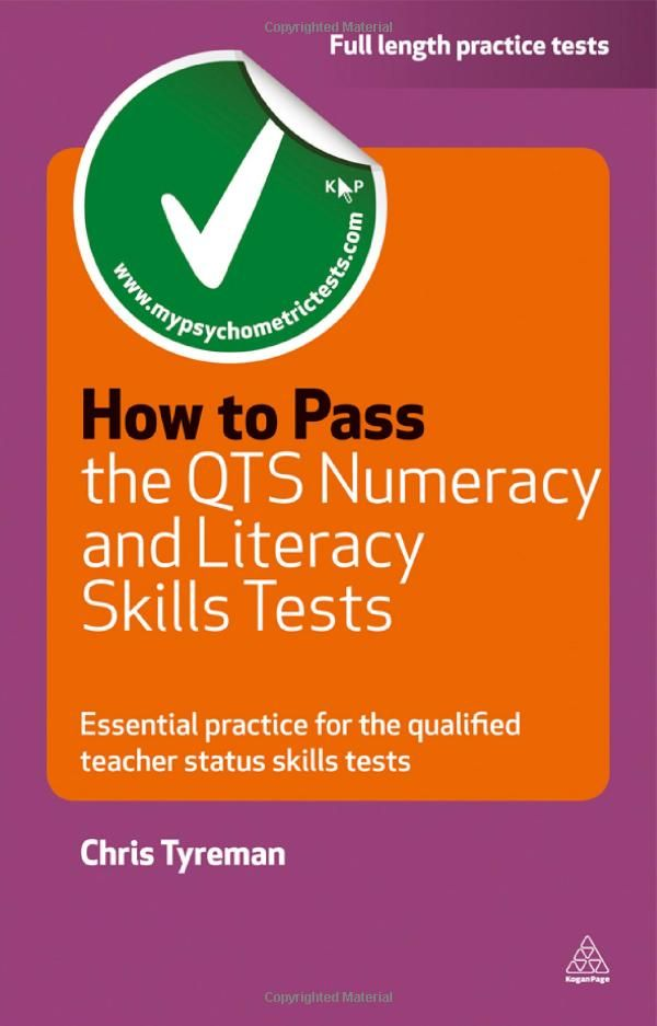 How to Pass the QTS Numeracy and Literacy Skills Tests: Essential Practice for the Qualified Teacher Status Skills Tests Testing Series: Ama...