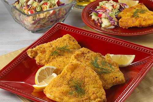 Crunchy Oven-Fried Catfish - Kidney-Friendly Recipes - DaVita