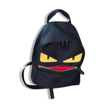 Little Monsters Designer Backpack   Onyx Hearts