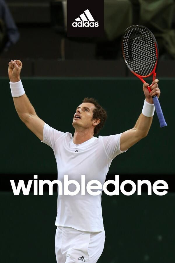 Adidas, Head, RBS: Sponsors celebrate Andy Murray's Wimbledon win on Twitter