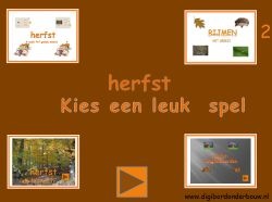 Digibord 4 herfstspelletjes deel 2. http://digibordonderbouw.nl/index.php/themas/herfst/herfstalgemeen/viewcategory/170