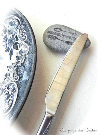 porte couteau tamponné