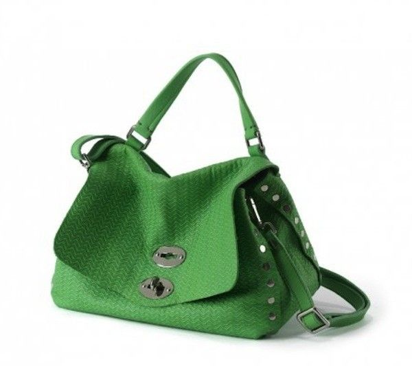 Borse postina Primavera/Estate 2014 - Postina Zanellato verde prato - #bags #bag