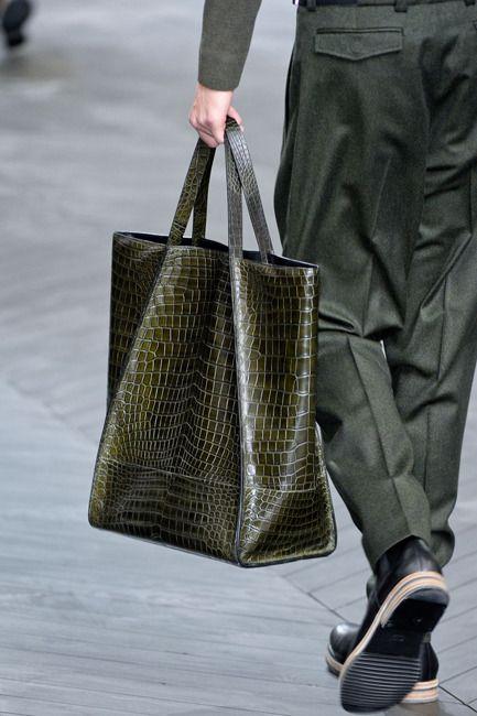 #men's bag Dior Crocodile bag