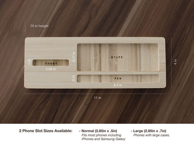 The Station - The Modernist Desktop Caddy by iSkelter   Gear   CoolPile.com