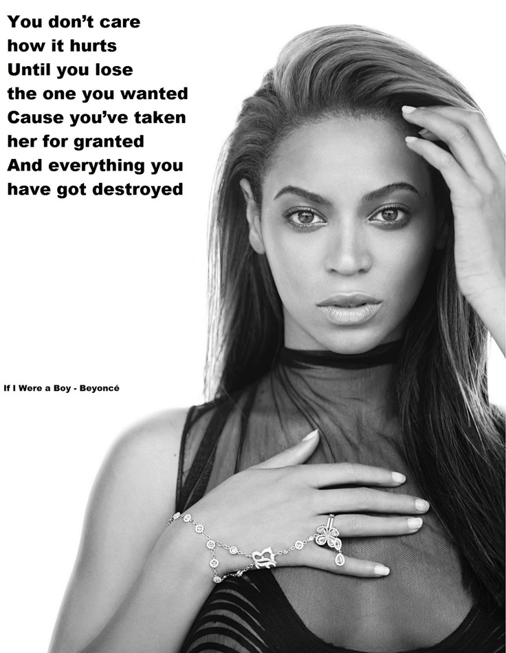 beyonce quotes about boys - photo #20