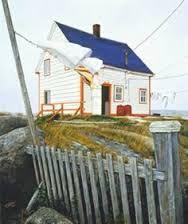 Clothesline in Newfoundland