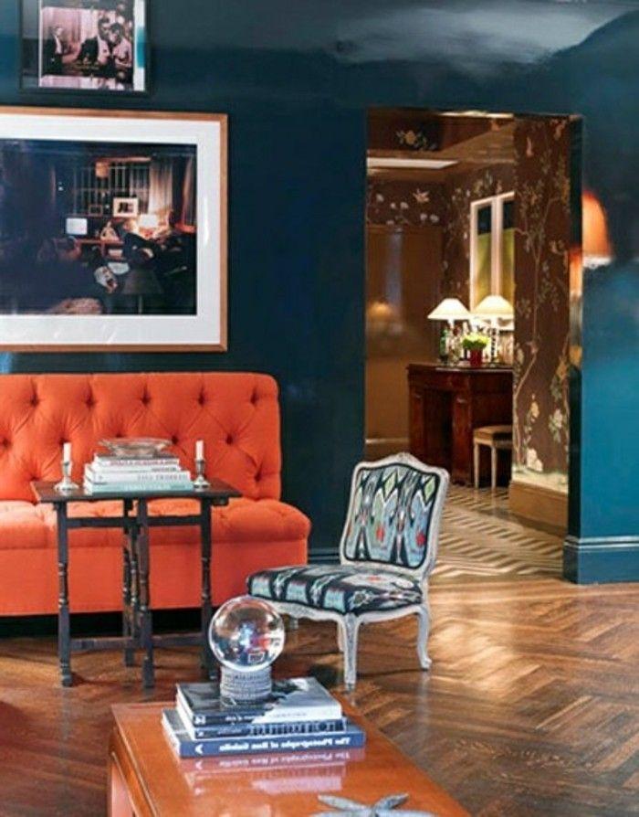 Die Wunderschöne Und Effektvolle Wandfarbe Petrol! | Wandgestaltung Ideen |  Pinterest | Interiors And House