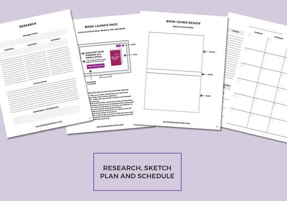 The Novel Author's Workbook Book Planner Worksheets #novelplanner #printableworksheets #printableworkbook #novelplanner #booklaunchtips #authormarketingtips #howtowriteanovel