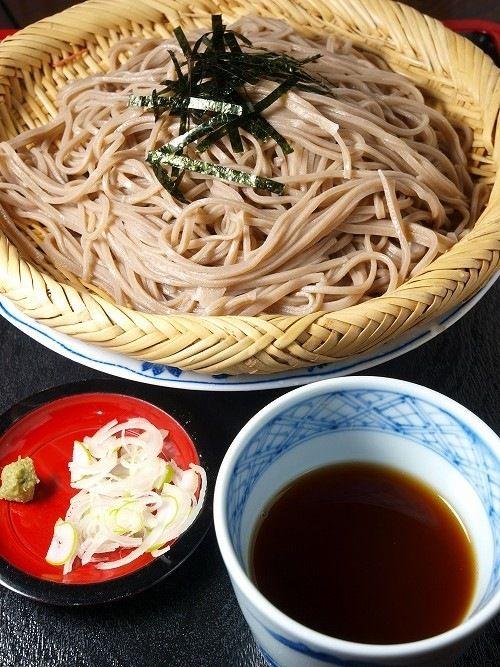 Japanese Soba Buckwheat Noodles 蕎麦