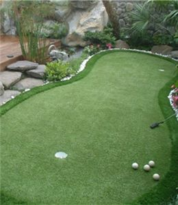 One of the best ways to improve and maintain your putting stroke and accuracy is through the use of backing putting green. There are many different shapes and sizes of backyard putting greens, according to budget and requirements, you can choose the suitable one for you. Playing backyard golf is relaxing and easy, but it still keeps you up and moving around a lot.