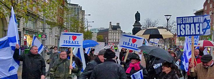 Pro Israel Rally in Dublin 2012