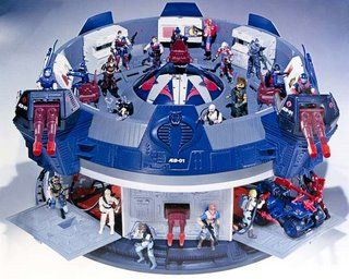 G.I. joe terror dome. Toys just do not even come close anymore....