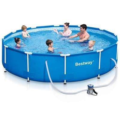Image for Metal Frame Pool - 12 Foot (366cm) from Kmart $159   Xmas ...
