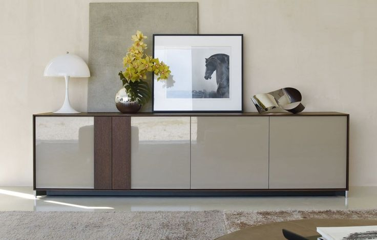 contemporary lacquered sideboard WHAT by Rodolfo Dordoni ...