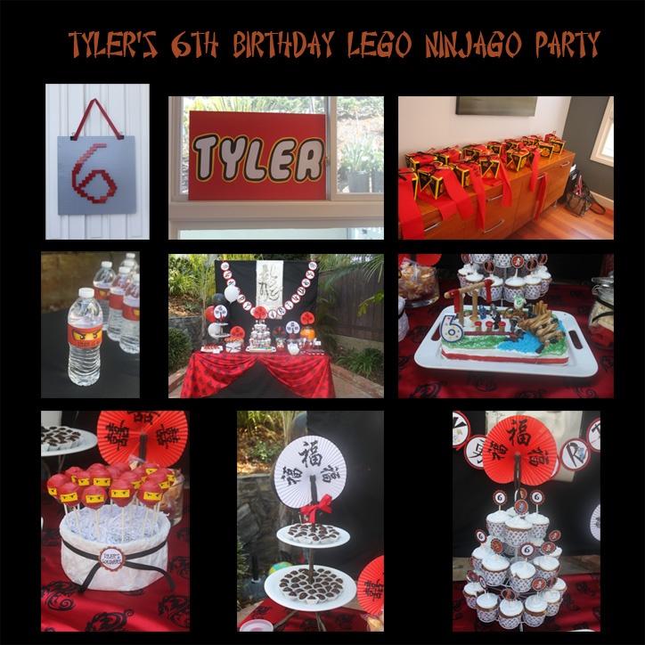 A Lego Ninjago Birthday Party: 136 Best LEGO Ninjago Party Ideas Images On Pinterest