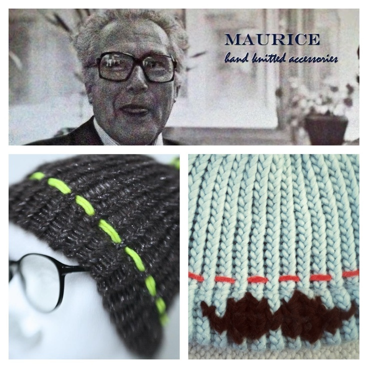 No moustache? Maurice has one for you! Maurice,  hand knitted hats, scarves and badcapes. All info: www.facebook.com/Maurice.knitwear