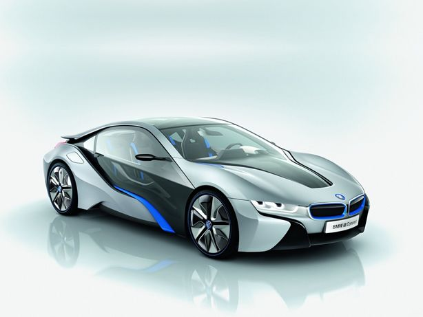BMW i8 production version will be shown next month in Frankfurt