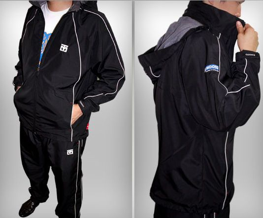 MOOTO TRACK SUIT training sports wear Korean TaeKwonDo Korea TKD uniforms BK #Unbranded