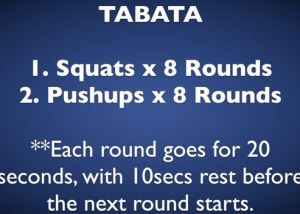 #HWOW Hillworks Workout Of the Week - Tabata Style