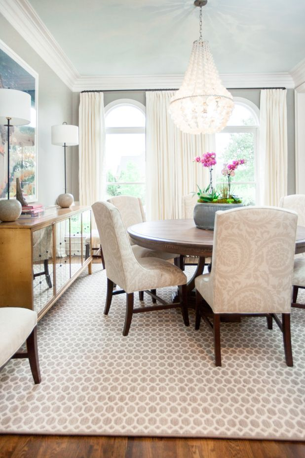 We Love This Beautiful Dining Room Featuring The Bernhardt Chiltern Buffet  And Slope Arm Chair
