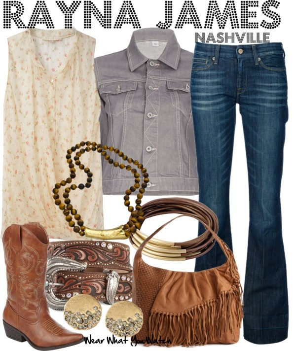 Inspired by Connie Britton as Rayna James on Nashville.