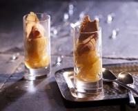 Recette de Verrines aux poires et au foie gras - Une recette de Cuisine AZ.